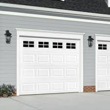 new garage door installed