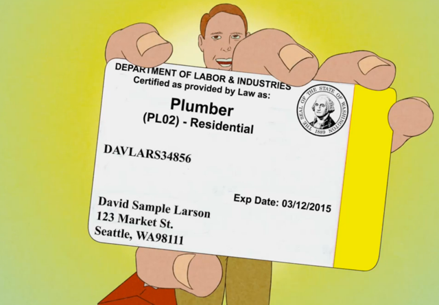 A reliable residential plumber is a licensed and insured plumber