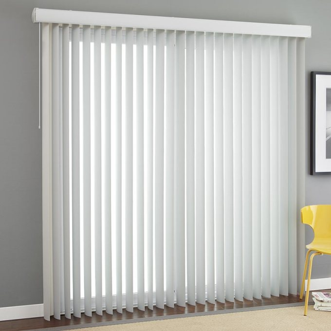 Examples of vertical window blinds
