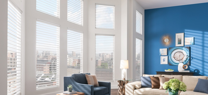 window blinds for living room
